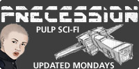 Precession - Pulp SciFi