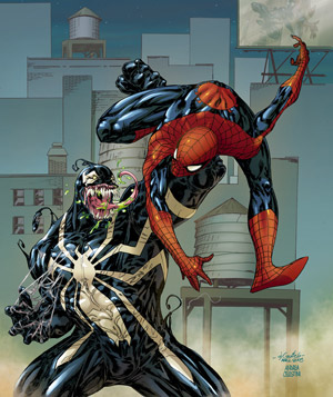 Spiderman vs Venom