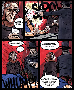 Ice Comic Page