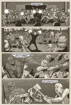Last Bllod Comic Page