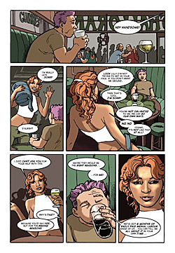 Lilly MacKenzie and the Mines of Charybdis Web Comic Page