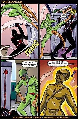 Magellan Comic Page