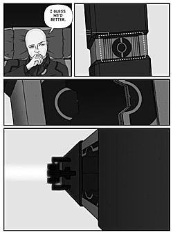 Precession Comic Page