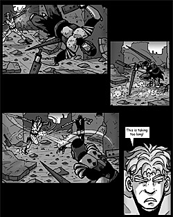 Sacred Pie Comic Page